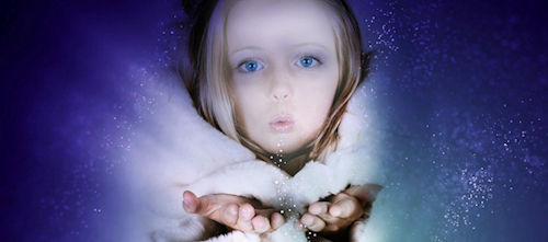 Girl Snow